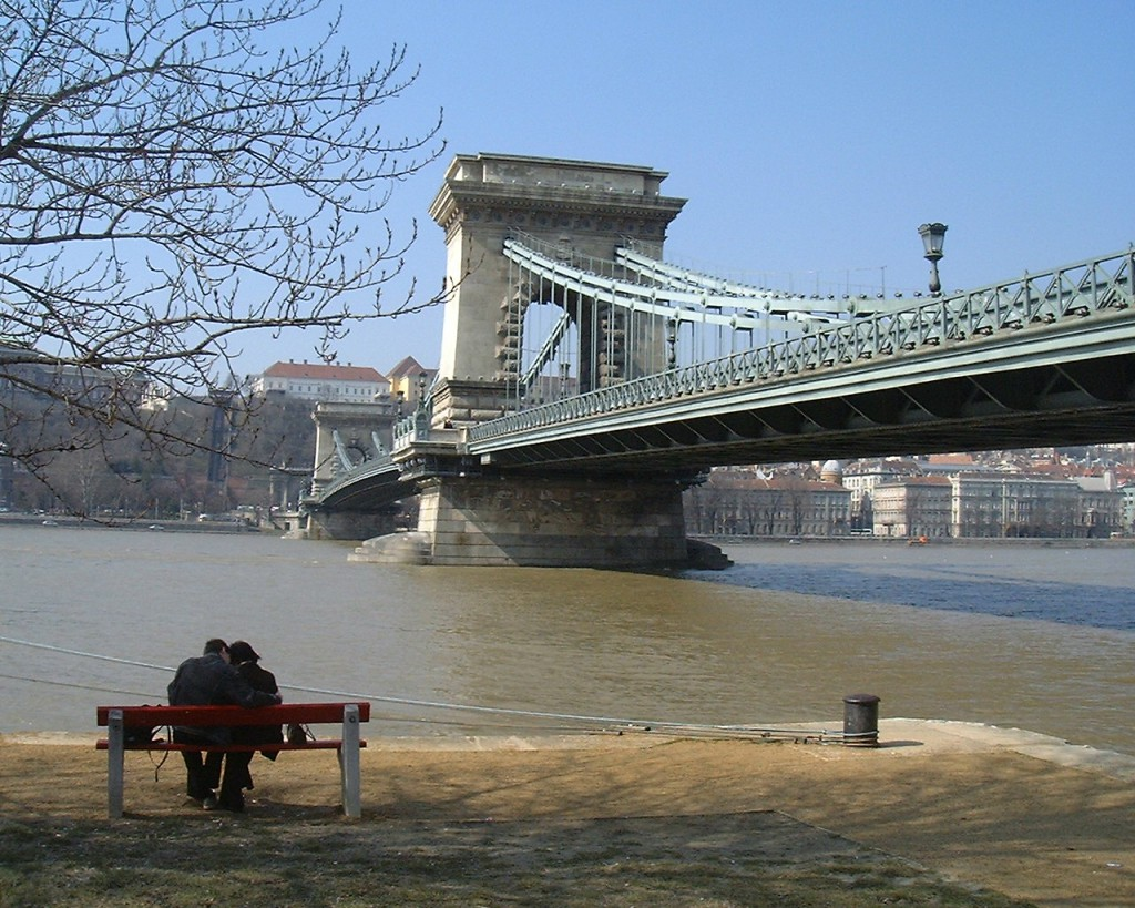 Budapest: Donaubrücke