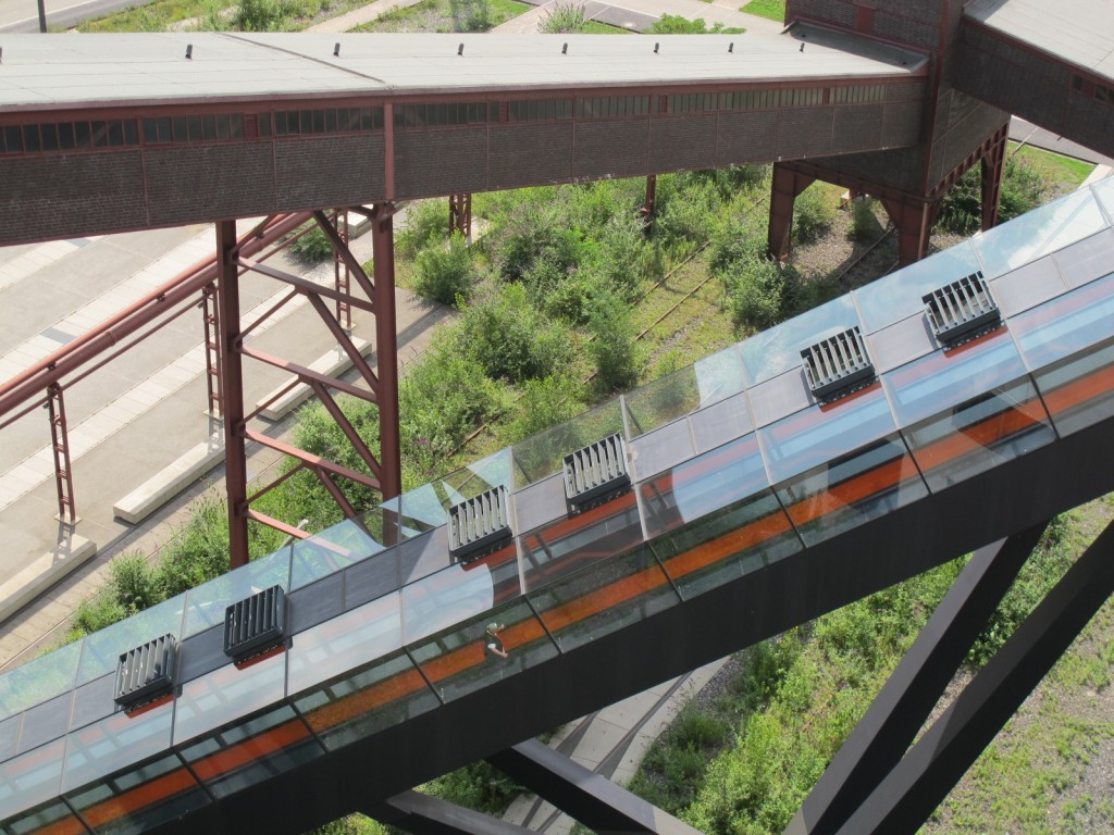 Rolltreppe zum Ruhrmuseum