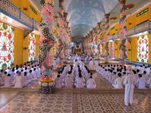 Cao Dai Tempel in Tay Ninh