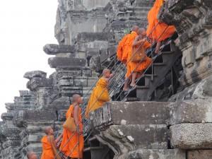 Aufstieg zum zentralen Turm