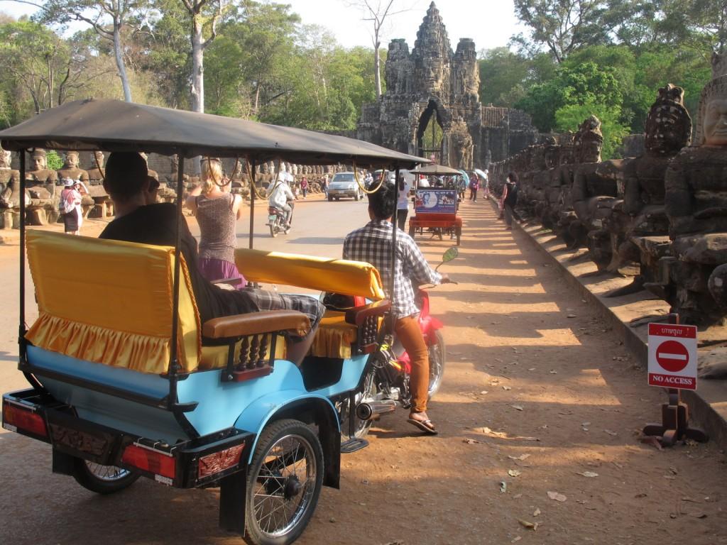 Südliches Stadttor Angkor Thom