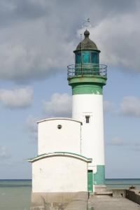 Der Leuchtturm von Le Tréport