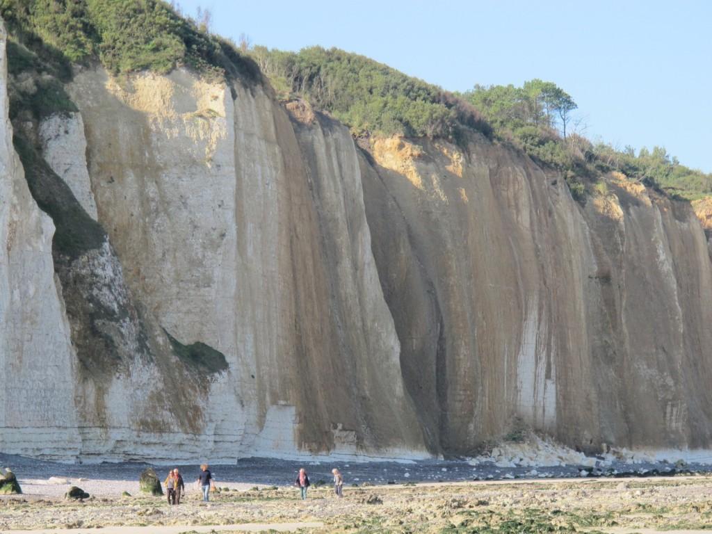 Die Steilküste bei Varangeville