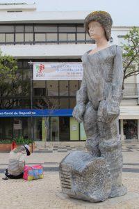 Skulptur König Sebastian