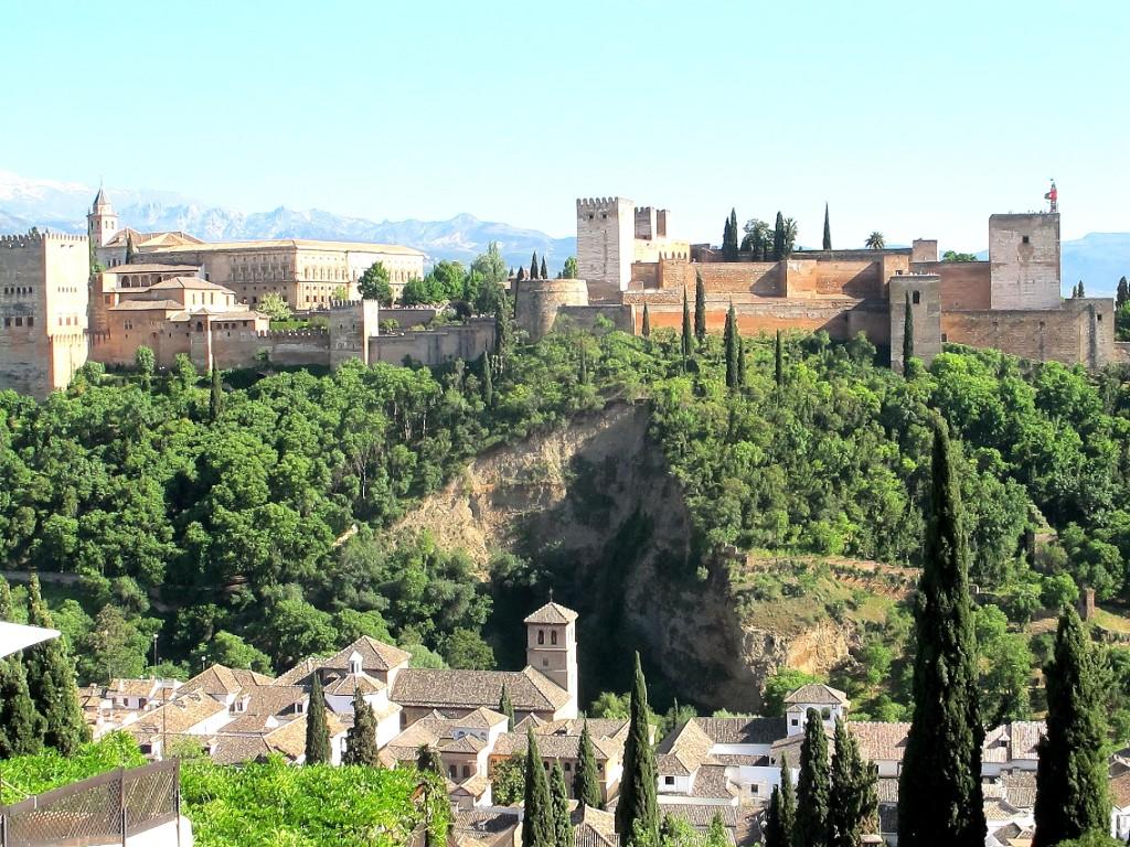 Alhambra (vom Mirador San Nicolas aus gesehen)