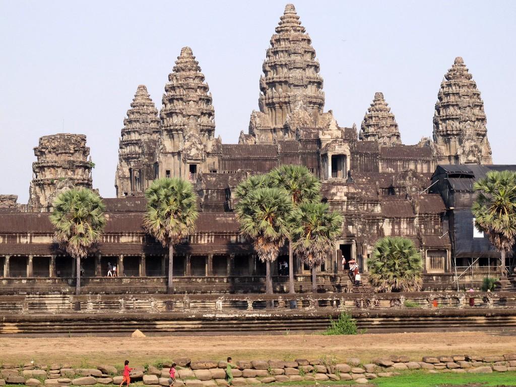 Die fünf Türme von Angkor Wat