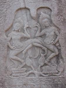 Apsaras - Tempeltänzerinnen