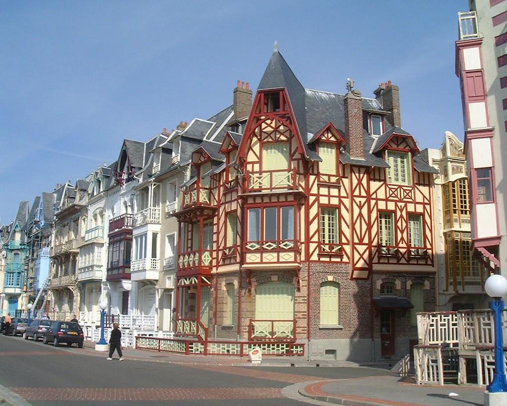 Häuser in Mers-les-Bains